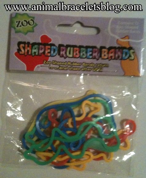 Zoo-shaped-rubber-bands-pack