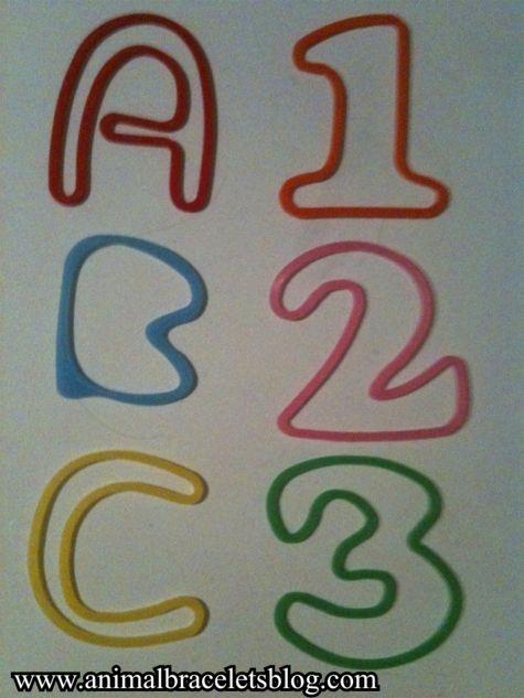 Letter-number-assortment