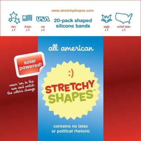 Stretchy-shapes-all-american-pack