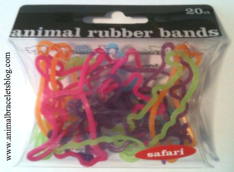 Safari-animal-rubber-bands-pack