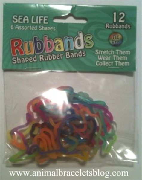 Sea-life-rubbands-pack
