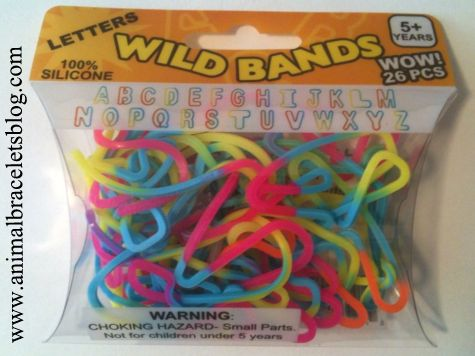 Wild-bands-letters-pack