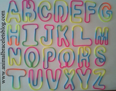 Wild-bands-letters-assortment