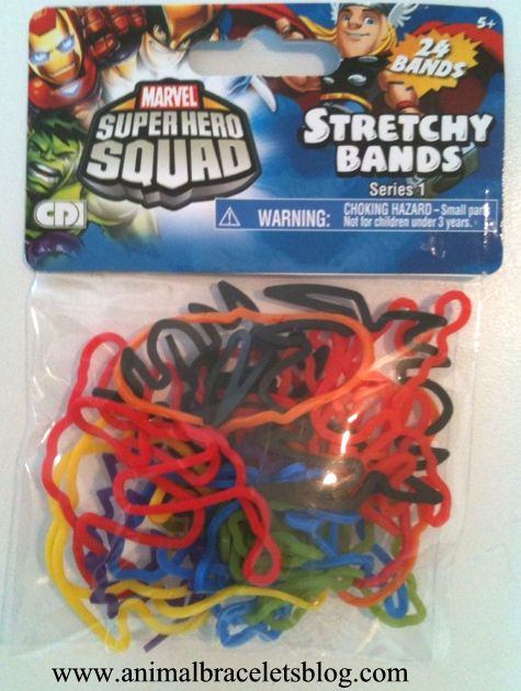 Stretchy-bands-superhero-squad-pack
