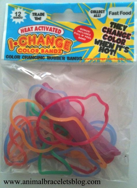 Ichangecolorbandz-fast-food-pack