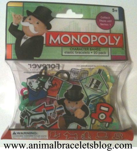 Monopoly-bandz-pack