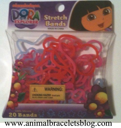 Dora-the-explorer-stretch-bands-pack