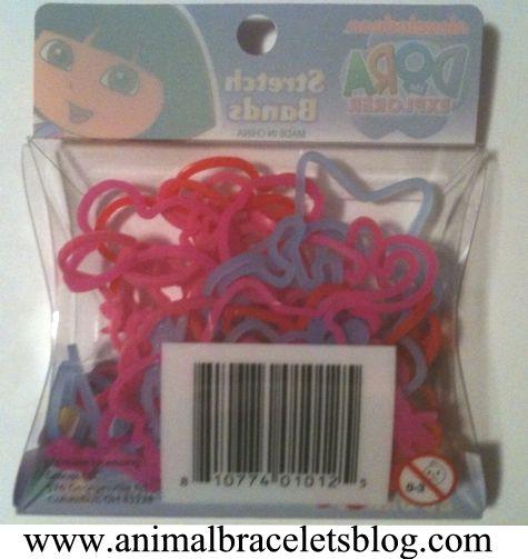Dora-the-explorer-stretch-bands-pack-back