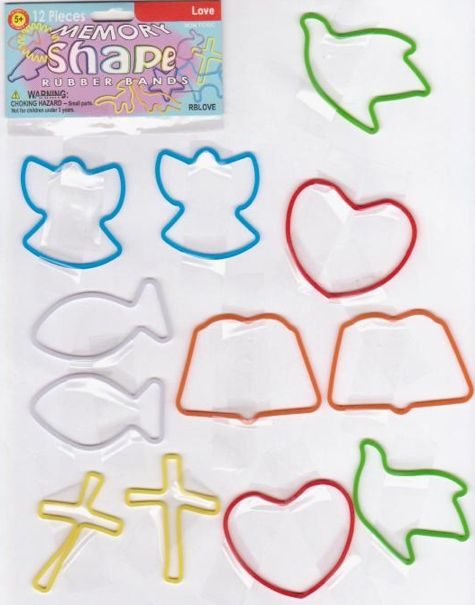 Memory-shape-rubber-bands-love-pack