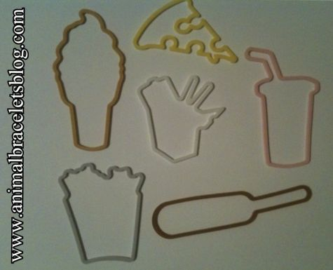 Stretchy-shapes-fast-food-assortment