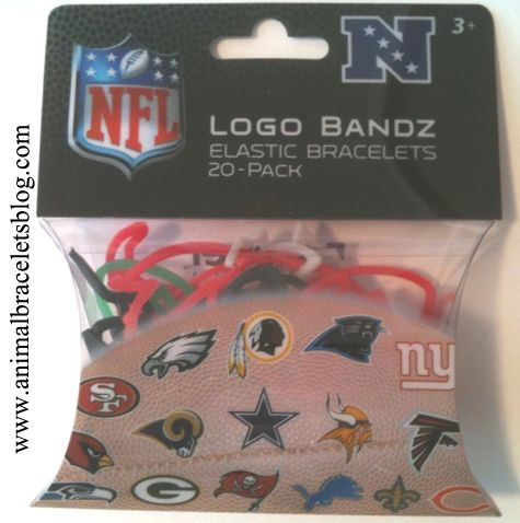 Nfl-nfc-logo-bandz-pack