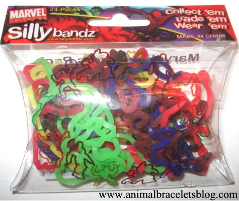 Silly-bandz-marvel-pack