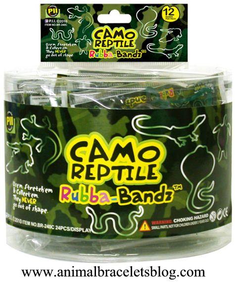 Camo-reptile-rubba-bandz