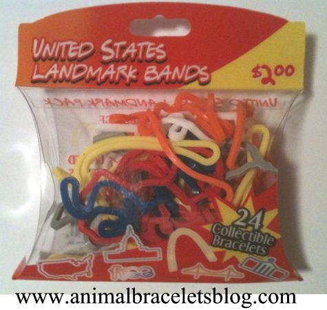 United-states-landmark-bands-pack