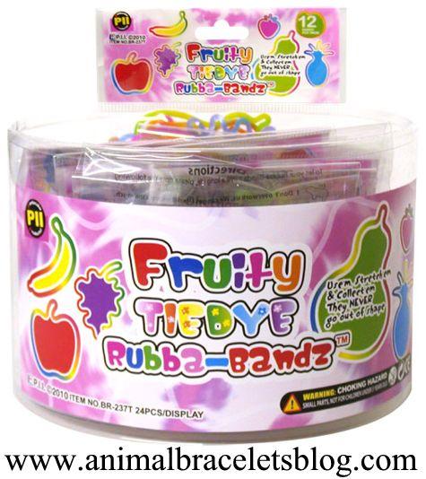 Fruity-tie-dye-rubba-bandz-display