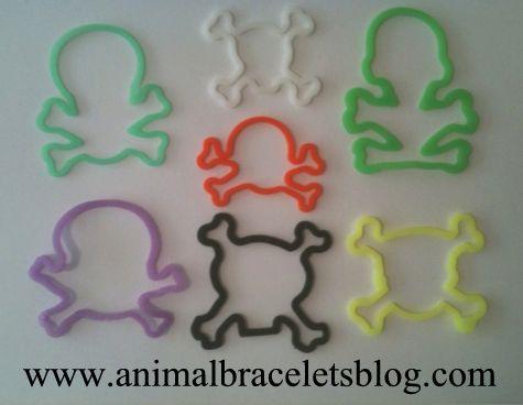 Skull-n-crossbones--rubber-bands