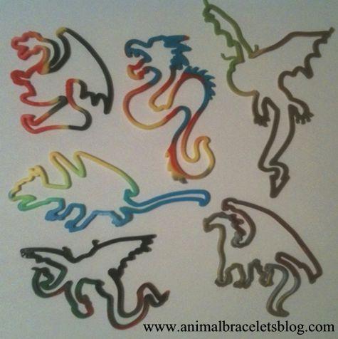 Buddy-bands-dragons-shapes