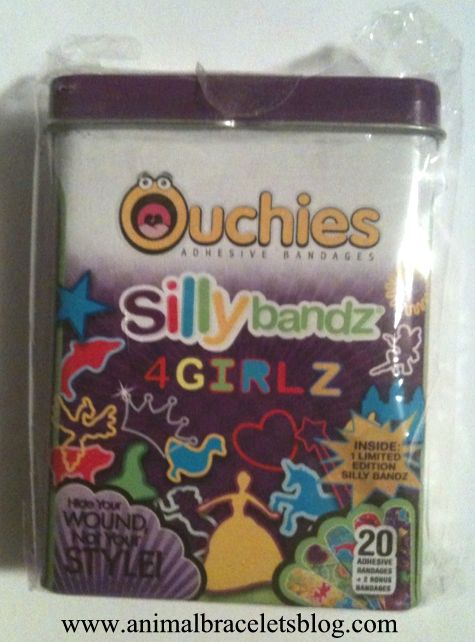 Ouchies-sillybandz-4girlz-pack