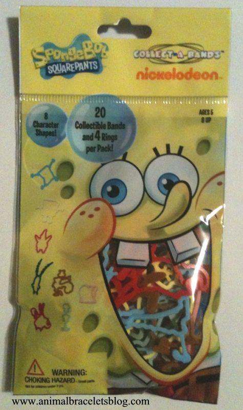 Spongebob-collectabands-pack