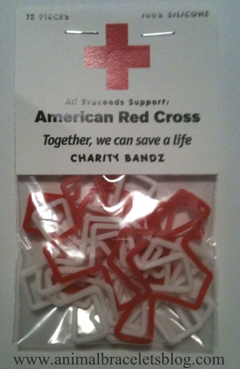 American-red-cross-charity-bandz-pack