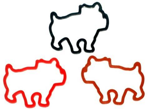 Bulldog-mascot-bandz
